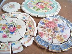 """Lavender Hill Studio: """"Breaking Up"""" Some Plates..Not so Hard To Do!"""