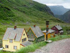 Transferring to the Flam Railway - Myrdal, Norway by virtualwayfarer, via Flickr