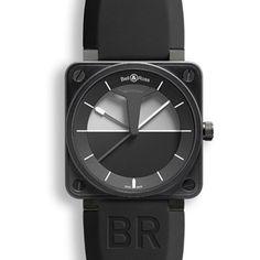 Bell & Ross Aviation Black Timepiece