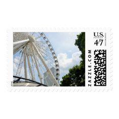 Skyview Ferris Wheel Atlanta Georgia Postage
