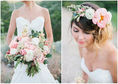 Bouquet & Flower Crown