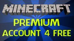 Free Minecraft Premium Accounts : How to Get a Minecraft Premium Account For Free! [Vanilla/Tekkit] http://www.youtube.com/watch?v=WO2osLia-ZM  http://youtu.be/WO2osLia-ZM