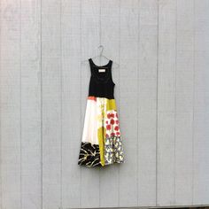 upcycled Spring / Summer Tank Dress / romantic by CreoleSha