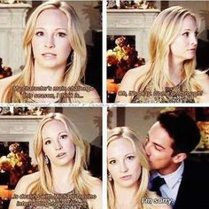 "Candice King (Caroline) and Michael Trevino (Tyler) = ""The Vampire Diaries"" Vampire Diaries Stefan, Vampire Diaries Quotes, Vampire Diaries Cast, Vampire Diaries The Originals, Supernatural Interview, Supernatural Funny, Paul Wesley, Damon Salvatore, Vampier Diaries"