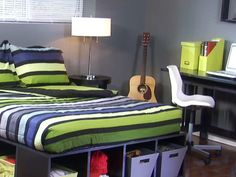DIY Platform Storage Bed Plans | How to Install a Platform Bed : How-To : DIY Network