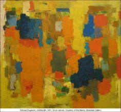 """Edward Dugmore """"Untitled #6"""" 1951"""