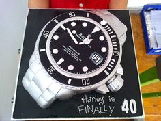 Rolex Watch Themed Cake I Likey Watches Picture