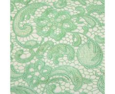 Venice Embroidered Mint Lace Fabric for Wedding Lace Bridal Elegant Dress Fabric - Lace Fabrics