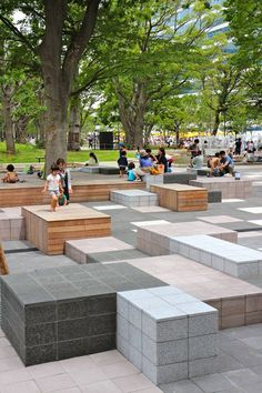 #AUS201718 #GroupE (0) landscape design_public space (1) Studio on Site (Hiroki Hasegawa) (2)Teikyo Heisei University Nakano Campus, Tokyo, Japan (3) Built, 2013 (4) - (5) Our main concept is the transformation of public space, so that it can be more functional and pleasant. This reference suggest a way to interfere on the existing public space (6) https://land8.com/reinterpreting-nature-in-design-teikyo-heisei-university-nakano-campus/