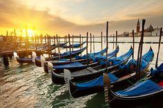 Venedik'ten gün doğumu