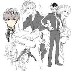 TG:re Tokyo Ghoul:re Sasaki Haise art
