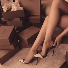 Who Is Gianvito Rossi? Where to Buy Boots, Pumps, and Sandals - heels classy Pretty Shoes, Cute Shoes, Me Too Shoes, Buy Boots, Shoe Boots, Boot Heels, Pumps Heels, Stiletto Heels, Stilettos