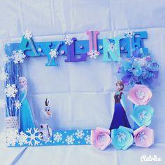 Diversión para celebración de cumpleaños Frozen #fiesta #Frozen