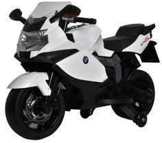 MOTO ELÉCTRICA PARA NIÑOS - MOTO 12V BMW K1300S BLANCA. SCHIANO SCH941, IndalChess.com Tienda de juguetes online y juegos de jardin