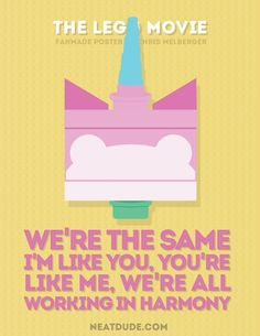 These Minimalist Posters Will Make You Love 'The Lego Movie' Even More