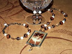 """""""Star Ballerina"""" jewellery set inspired by Degas' """"The Star"""" painting"""