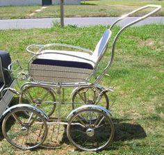 Baby stroller/pram c. late 1940's.