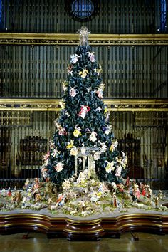 With its Christmas tree and Neapolitan Baroque nativity scene, the Met is the epicenter of the city's holiday cheer. The 20-foot blue spruce is on display from now to January 6, complete with an 18th-century collection of angels and cherubs.