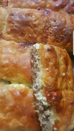 Cookbook Recipes, Cake Recipes, Cooking Recipes, Easy Puff Pastry Recipe, Pizza Tarts, Mediterranean Recipes, Greek Recipes, Different Recipes, Cooking Time