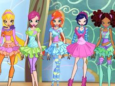 Ballet Beauty|The Winx look like a bunch of sugar plum fairies in their ballerina get-up and adorable tutus.
