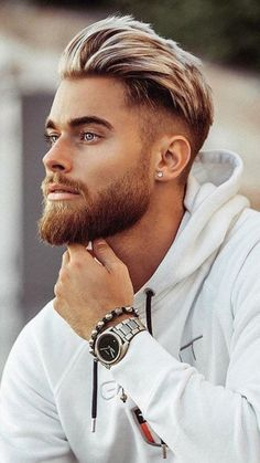 The Best Medium Length Hairstyles Haircuts for Men: The Best Medium Length Hairstyles Haircuts For Men. The Best Medium Length Hairstyles Haircuts For Men. Medium Beard Styles, Beard Styles For Men, Medium Hair Cuts, Hair And Beard Styles, Short Hair Cuts, Curly Hair Styles, Short Hair Styles Men, Short Men, Mens Hair Medium