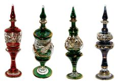 Egyptian Blown Glass Perfume Bottles | Blown Glass | Chanel Collection