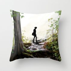 Pillow http://society6.com/product/eerie-forest-kfs_pillow#25=193&18=126
