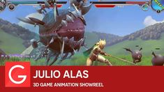 Julio Alas - 3D Game Animation Showreel