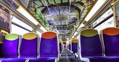 French Trains Are Being Turned Into Moving Art Museums | Bored Panda