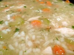 Weight Watchers Points Plus Recipes: Chicken and Rice Soup