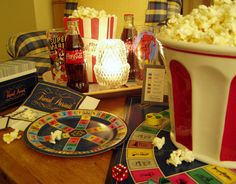 Tablescape - Game Night Party