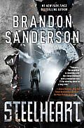 "Steelheart by Brandon Sanderson:  ""Where there are villains, there will be heroes,"" David's father promises in the opening scene of Steelheart . But will the Reckoners overcome the evil Epics to provide a peaceful future in post-apocalyptic Chicago? If you liked the Mistborn series, you need to check..."