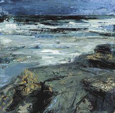 Donald Teskey http://donaldteskey.com Coast lI 2011 60 x 60 cm 24 x 24 oil on canvas
