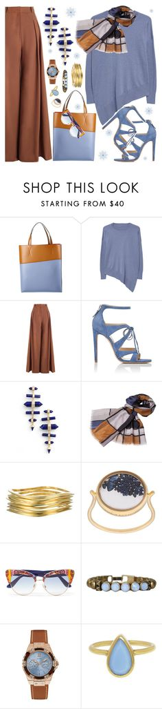 """Acorn & Bluebell"" by petalp ❤ liked on Polyvore featuring Marni, MANGO, Zimmermann, Chloe Gosselin, Kendra Scott, Infinity, Jules Smith, Aurélie Bidermann, Dolce&Gabbana and HEET"