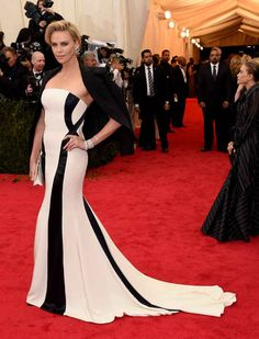 Best dress and model of the night >> Charlize Theron | All The Pretty Dresses From The 2014 Met Ball