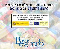 Distribución de alimentos no marco do Programa 2016 de ayuda alimentaria a las…