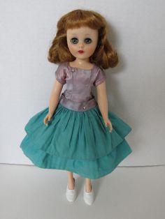 "1950's 14"" Toni Sweet Sue Sophisticate Doll w/ Tea Time Dress"