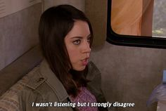 """On positively contributing to a conversation:   28 Times April Ludgate Made You Say """"Me As An Adult"""""""