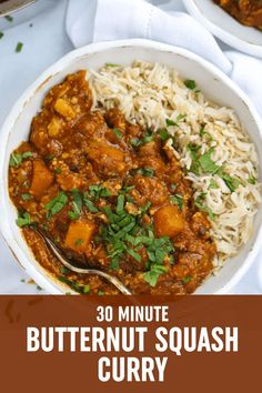 VEGAN CURRY OF DREAMS.. ready in 30 MINUTES and a BATCH cook hero.. STEP THIS WAY! Curry Recipes, Vegetarian Recipes, Healthy Recipes, Family Recipes, Family Meals, Butternut Squash Curry, Batch Cooking, Lunches And Dinners, Keto