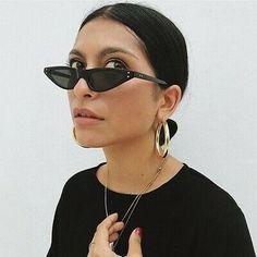 Fashion 2018 Vintage Retro Cat Eye Sunglasses Women Eyewear Fashion Designer Fashion 2018 Vintage Re Round Lens Sunglasses, Cute Sunglasses, Cat Eye Sunglasses, Sunglasses Women, Sunnies, Vintage Sunglasses, Womens Fashion Online, Latest Fashion For Women, Fashion 2018
