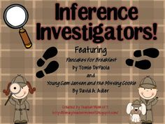 Teacher Mom of 3: Super Sleuth Blog Hop Stop #8 Inference Investigators