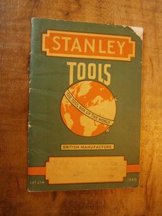 Hardware Stores, Stanley Tools, New Britain, Advertising, Ads, Woodworking Tools, Packaging, Signs, Shop