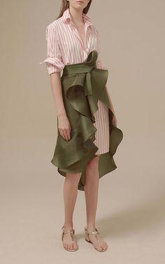 Malpelo Striped Shirtdress by JOHANNA ORTIZ for Preorder on Moda Operandi