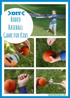 Get those baseball skills tuned up with this DIY for improving hand-eye coordination and batting skills!