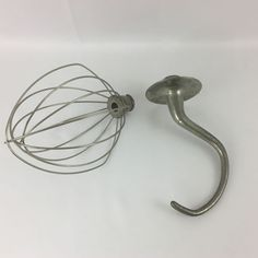 Vintage Kitchenaid Hobart Model K5A Attachments Wire Whisk and Dough Hook #KitchenAid