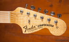 This Masterbuilt Garage Mod Strat was made especially for Max Guitar by master builder Jason Smith!During the visist to the fender Custom shop you will find all sorts of extremely good and strange guitars! especially when you go to the booths of the individual masterbuilders. last year I found a strange looking guitar standing in … #guitarstand