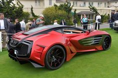Laraki Motors Epitome Concept: Monterey 2013: I'm a big fan of new and low-production companies