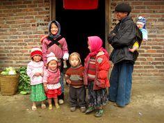 Những đứa trẻ thật đáng yêu! @Hà Giang
