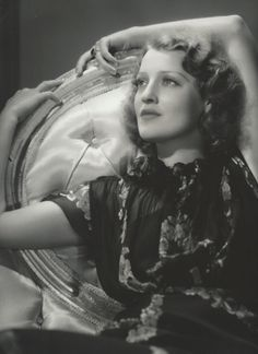 This is a 10 x 13 double weight, original, vintage photo of Jeanette MacDonald - ESCANO COLLECTION