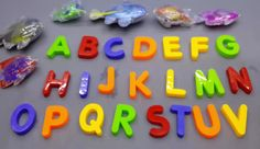ABC Alphabet Learning! Alphabet Learn and  Kinder Surprise Eggs Opening 3